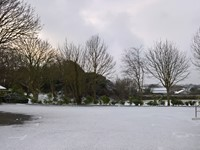 Snow at the Vale Douzaine Rooms