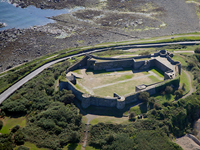 Aerial image of Vale Castle